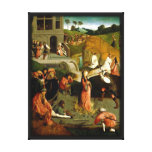Martyrdom of Santa Lucia Renaissance Reproduction Stretched Canvas Print
