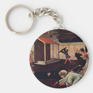 Martyrdom Of St Mark By Angelico Fra Keychains