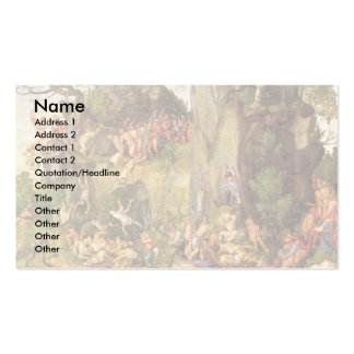 Martyrdom Of The Ten Thousand Christians Double-Sided Standard Business Cards (Pack Of 100)