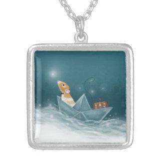 Martys Sailboat Into Imaginashun Necklace