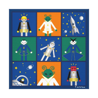 Martzkins In Outer Space Canvas Canvas Prints