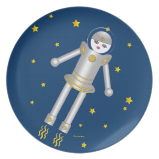 Martzkins In Outer Space Plate