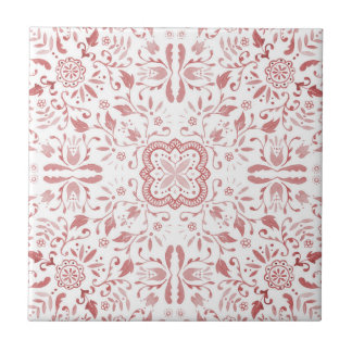 Marvellous Ceramic Tile - Vintage Red