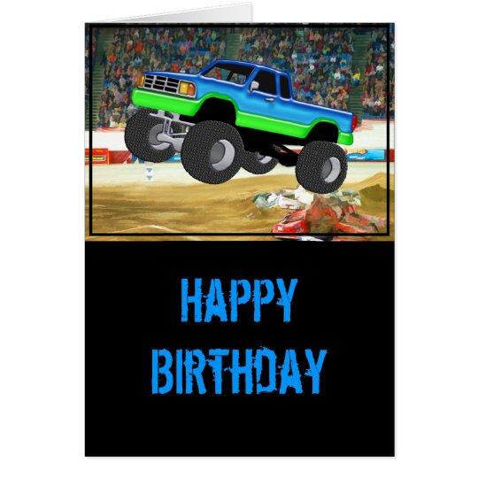 Marvellous Monster Truck in the Arena Card