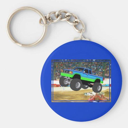 Marvellous Monster Truck in the Arena Key Ring