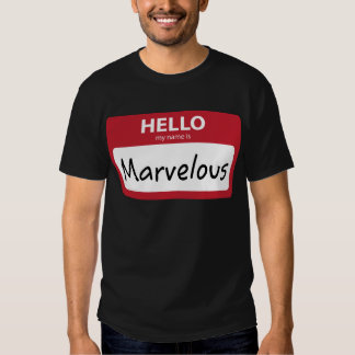 marvelous 001 tee shirt