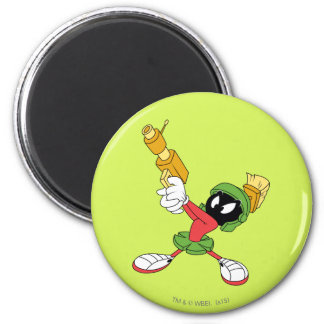 MARVIN THE MARTIAN™ Aiming Laser 6 Cm Round Magnet