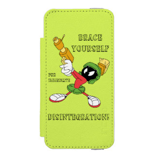 MARVIN THE MARTIAN™ Aiming Laser Incipio Watson™ iPhone 5 Wallet Case