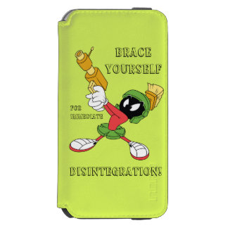 MARVIN THE MARTIAN™ Aiming Laser Incipio Watson™ iPhone 6 Wallet Case