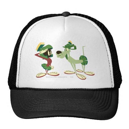 Marvin the Martian and K-9 2 Trucker Hat