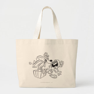 MARVIN THE MARTIAN™ and K-9 Gift Surprise Large Tote Bag