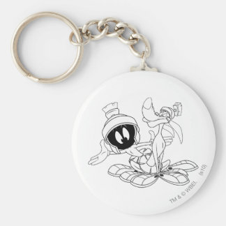 MARVIN THE MARTIAN™ and K-9 Key Ring