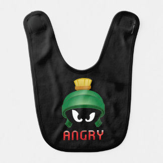 MARVIN THE MARTIAN™ Angry Emoji Bib