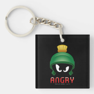 MARVIN THE MARTIAN™ Angry Emoji Key Ring