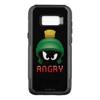 MARVIN THE MARTIAN™ Angry Emoji OtterBox Commuter Samsung Galaxy S8+ Case