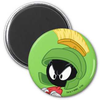 MARVIN THE MARTIAN™ | Arms Crossed 6 Cm Round Magnet