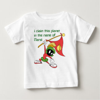 MARVIN THE MARTIAN™ Claiming Planet Baby T-Shirt