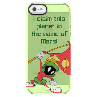 MARVIN THE MARTIAN™ Claiming Planet Clear iPhone SE/5/5s Case