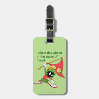 MARVIN THE MARTIAN™ Claiming Planet Luggage Tag