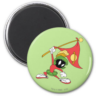 MARVIN THE MARTIAN™ Claiming Planet Magnet