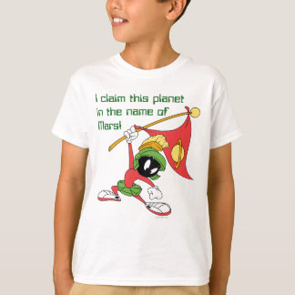 MARVIN THE MARTIAN™ Claiming Planet T-Shirt