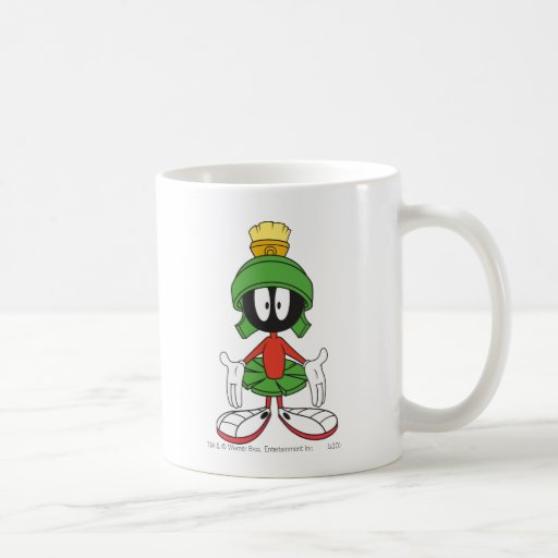 Marvin the Martian Confused Mug