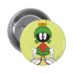 MARVIN THE MARTIAN™ Confused Pinback Buttons