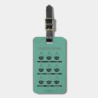 MARVIN THE MARTIAN™ Current Mood Chart Luggage Tag