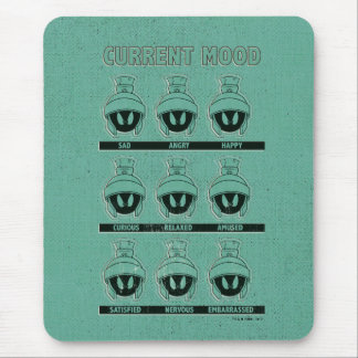 MARVIN THE MARTIAN™ Current Mood Chart Mouse Mat