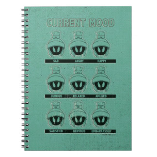 MARVIN THE MARTIAN™ Current Mood Chart Notebook