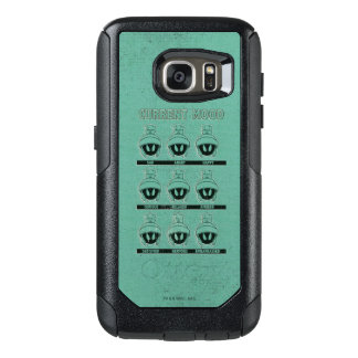 MARVIN THE MARTIAN™ Current Mood Chart OtterBox Samsung Galaxy S7 Case