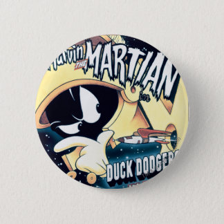 MARVIN THE MARTIAN™, DAFFY DUCK™ and Elmer 6 Cm Round Badge