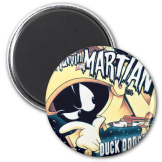 MARVIN THE MARTIAN™, DAFFY DUCK™ and Elmer 6 Cm Round Magnet