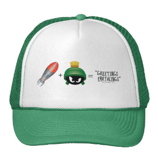 MARVIN THE MARTIAN™ Emoji Equation Cap