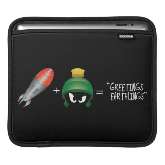 MARVIN THE MARTIAN™ Emoji Equation iPad Sleeve