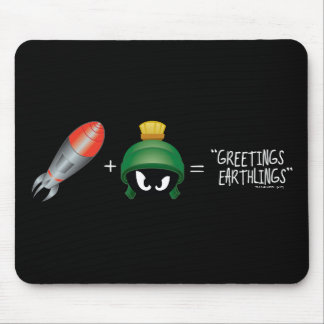 MARVIN THE MARTIAN™ Emoji Equation Mouse Mat