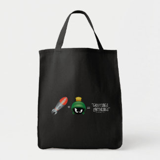 MARVIN THE MARTIAN™ Emoji Equation Tote Bag