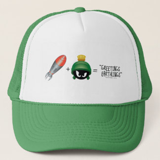 MARVIN THE MARTIAN™ Emoji Equation Trucker Hat