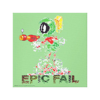 MARVIN THE MARTIAN™ Epic Fail Canvas Print