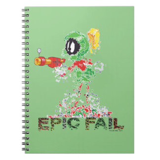 MARVIN THE MARTIAN™ Epic Fail Notebook
