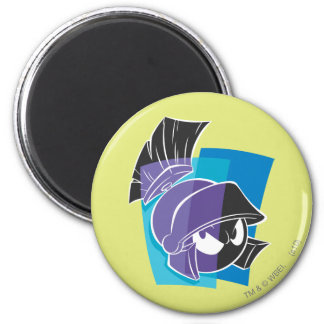 MARVIN THE MARTIAN™ Expressive 17 6 Cm Round Magnet