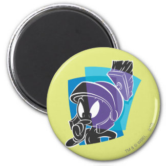MARVIN THE MARTIAN™ Expressive 20 6 Cm Round Magnet