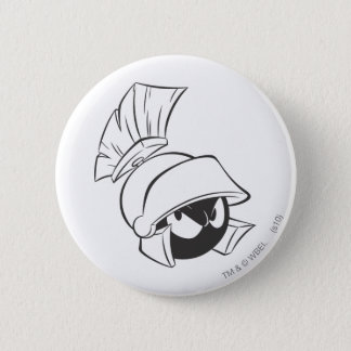 MARVIN THE MARTIAN™ Expressive 22 6 Cm Round Badge