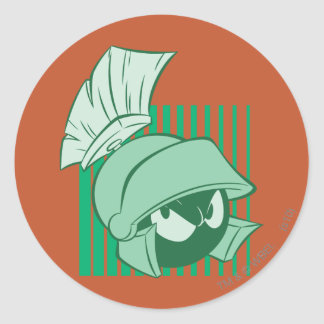 MARVIN THE MARTIAN™ Expressive 23 Classic Round Sticker