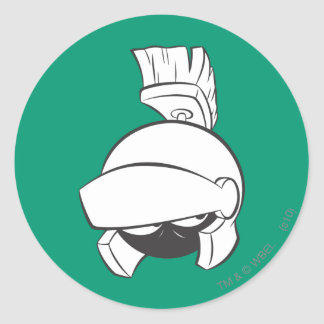 MARVIN THE MARTIAN™ Expressive 4 Classic Round Sticker