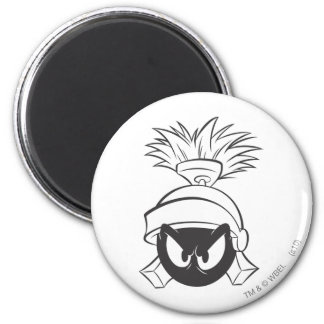 MARVIN THE MARTIAN™ Expressive 5 6 Cm Round Magnet