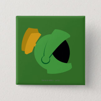 MARVIN THE MARTIAN™ Identity 15 Cm Square Badge