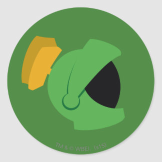 MARVIN THE MARTIAN™ Identity Classic Round Sticker