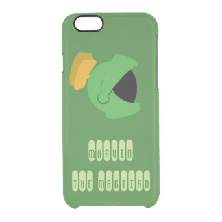 MARVIN THE MARTIAN™ Identity Clear iPhone 6/6S Case