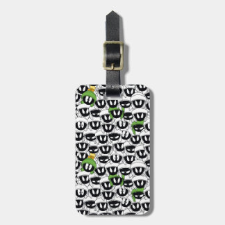 MARVIN THE MARTIAN™ Line Art Color Pop Pattern Luggage Tag